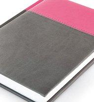 Notesy Klasyczne Napolirozowy Szary 190x205