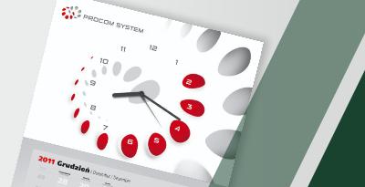 Kalendarz Z Zegarem Wstep
