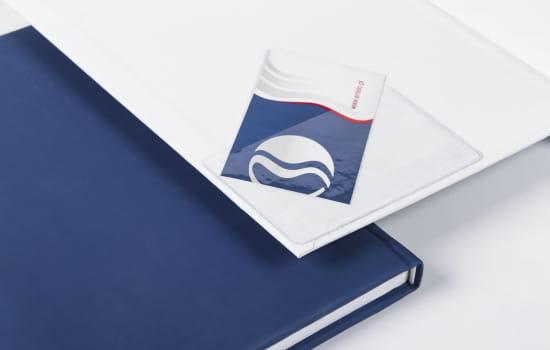 Foliowa kieszonka na wizytówkę